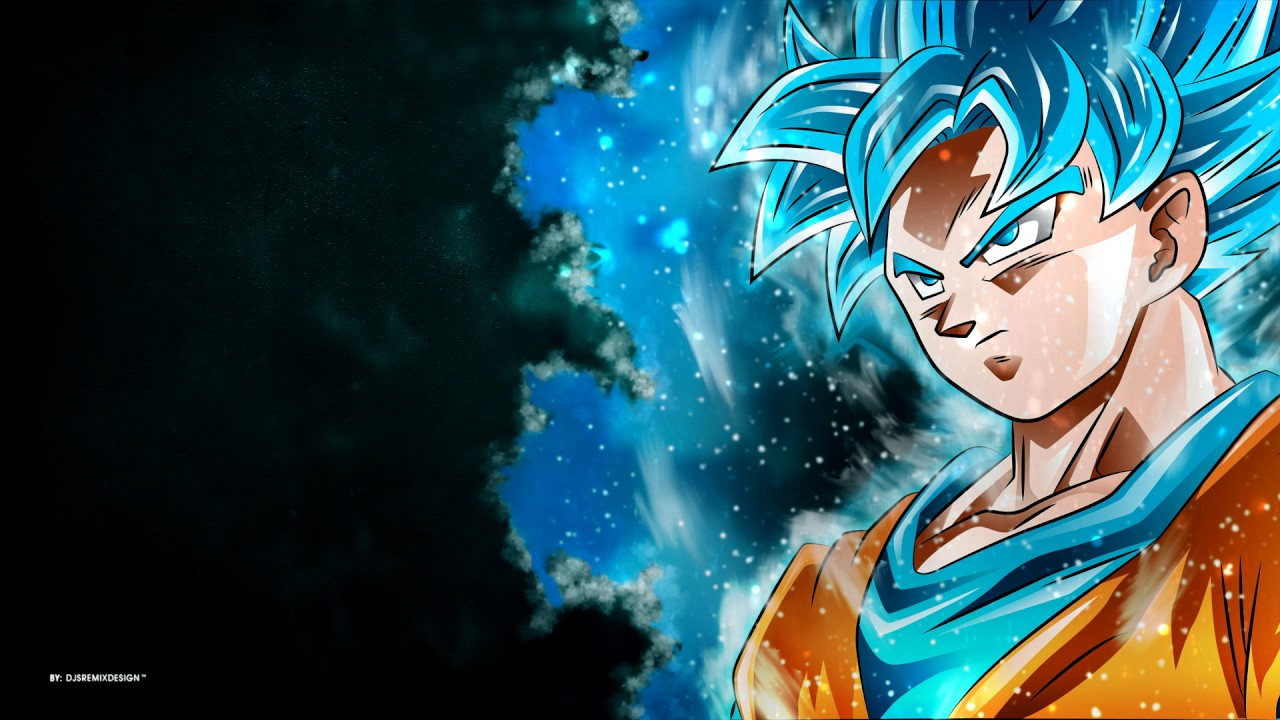 Dragon Ball Super - Wallpaper - Goku [ super saiyan blue ] - YouTube