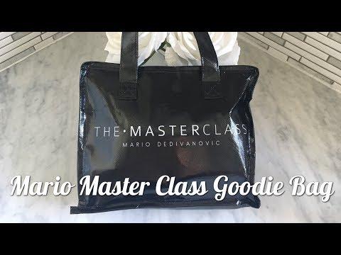 MARIO MASTER CLASS GOODIE BAG