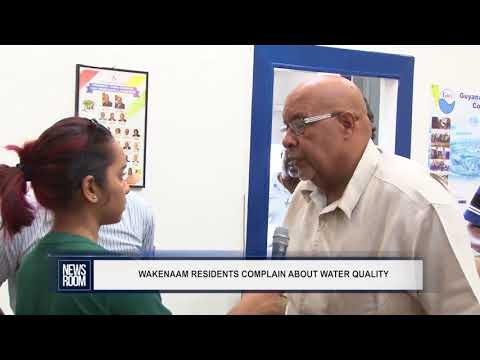 WAKENAAM RESIDENTS COMPLAIN ABOUT WATER QUALITY