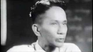 Dr Kyaw Thet 1957 lecture excerpt