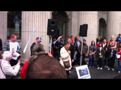 Anglo Tapes Protest Dublin GPO June 29th