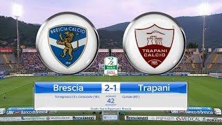 Highlights Brescia-Trapani 2-1, 42^ Giornata SerieB 18.05.17 ©TrapaniCalcio.it