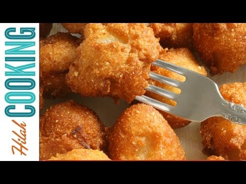 How To Make Hush Puppies |  Hilah Cooking Ep 8