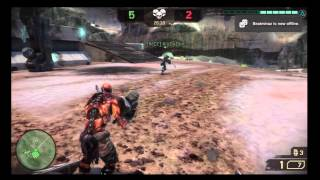 Starhawk - Online Multiplayer Team Deathmatch on Lost Canyon Map, HD Gameplay PS3