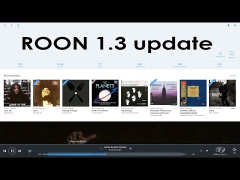 Roon 1,3 giant update!