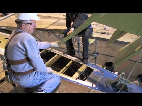 MD-83 Vertical Stabilizer Replacement