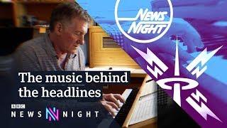How to write a TV theme tune - BBC Newsnight