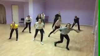 Дочь танцует Хип хоп.видео урок
