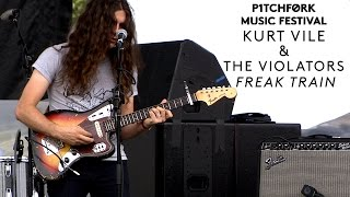 "Kurt Vile and The Violators perform ""Freak Train"" - Pitchfork Music Festival 2015"