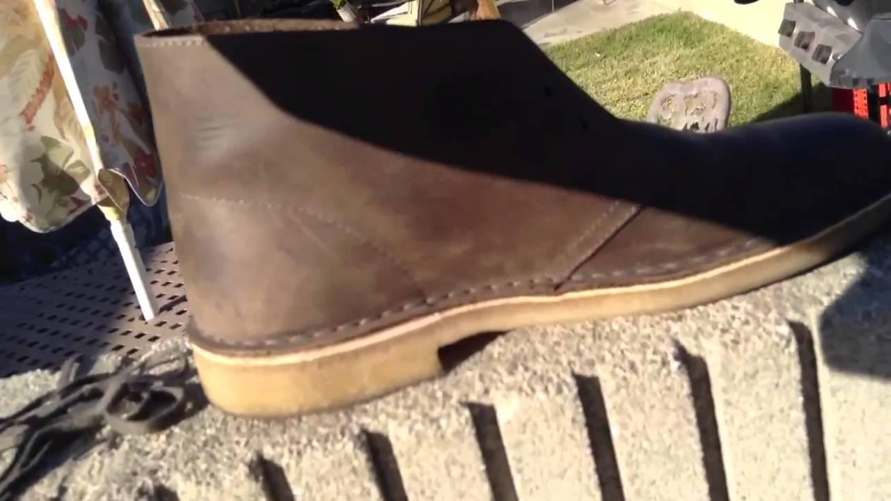 b006ebc9 Clark's desert boots waterproofing