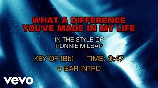 Ronnie Milsap - What A Difference You