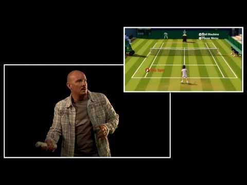 Grand Slam Tennis Wii Video