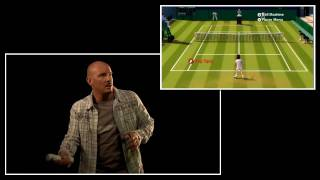 Grand Slam Tennis Wii Video