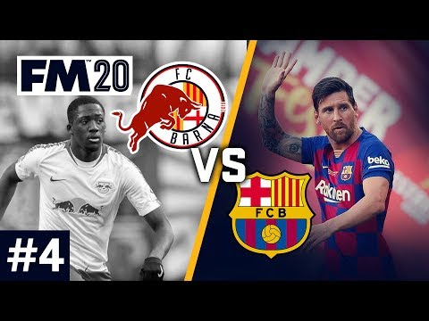 Red Bull Barcelona - Episode 4: The Barcelona Derby! | Football Manager 2020 Let's Play #FM20