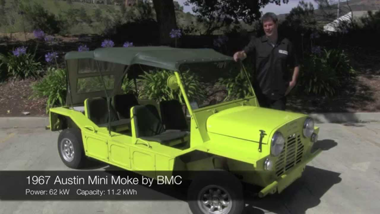 1967 Austin Mini Moke Electric Car Conversion by EV West