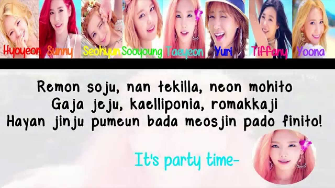 party color coded lyrics eng rom official hd youtube