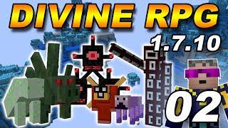 [1.7.10] DivineRPG Minecraft #02 - Ферма Мобов и Портал (Minecraft)