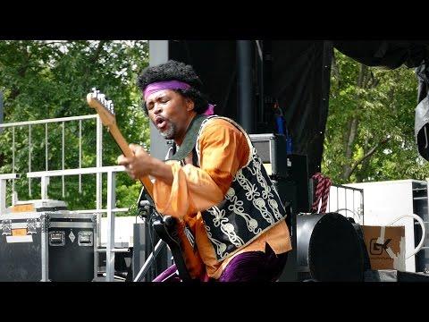 Jimi Hendrix Wild Thing, Guitar Destruction  tribute band AXiS