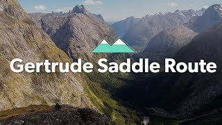 Gertrude Saddle Route: Alpine Tramping (Hiking) Series | New Zealand