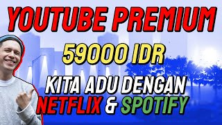 BARU! YOUTUBE PREMIUM INDONESIA - MANTEP BGT!! - REVIEW - VS NetFlix, Spotify, Apple Music!