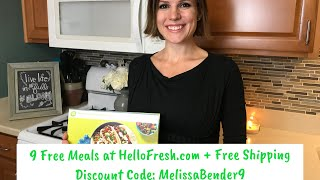 Nine Free Meals (Plus Free Shipping!) from HelloFresh: Review and Discount