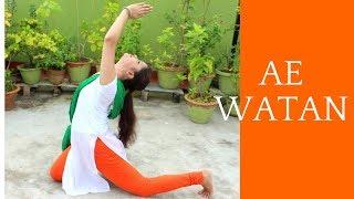 AE WATAN DANCE CHOREOGRAPHY | Raazi | One take video | Antara Bhadra