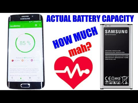 Actual Battery Capacity - Android Measuring (with App) - Tipps & Tricks