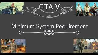 GTA V Pc Requirement
