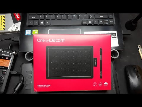 UNBOXING - REVIEW - GIVEAWAY Pen Tablet One by Wacom CTL - 472