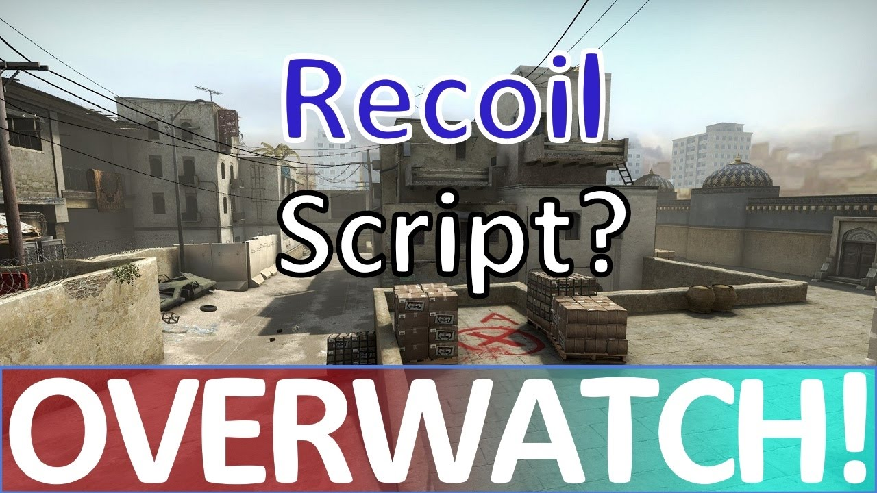 Does he have a Recoil Script? CS:GO OVERWATCH!