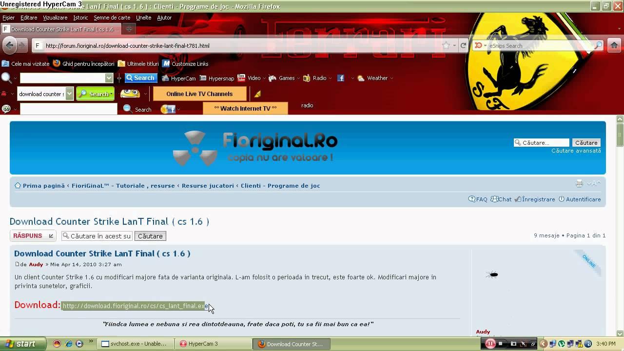 Download free cs 1. 6 lant final.