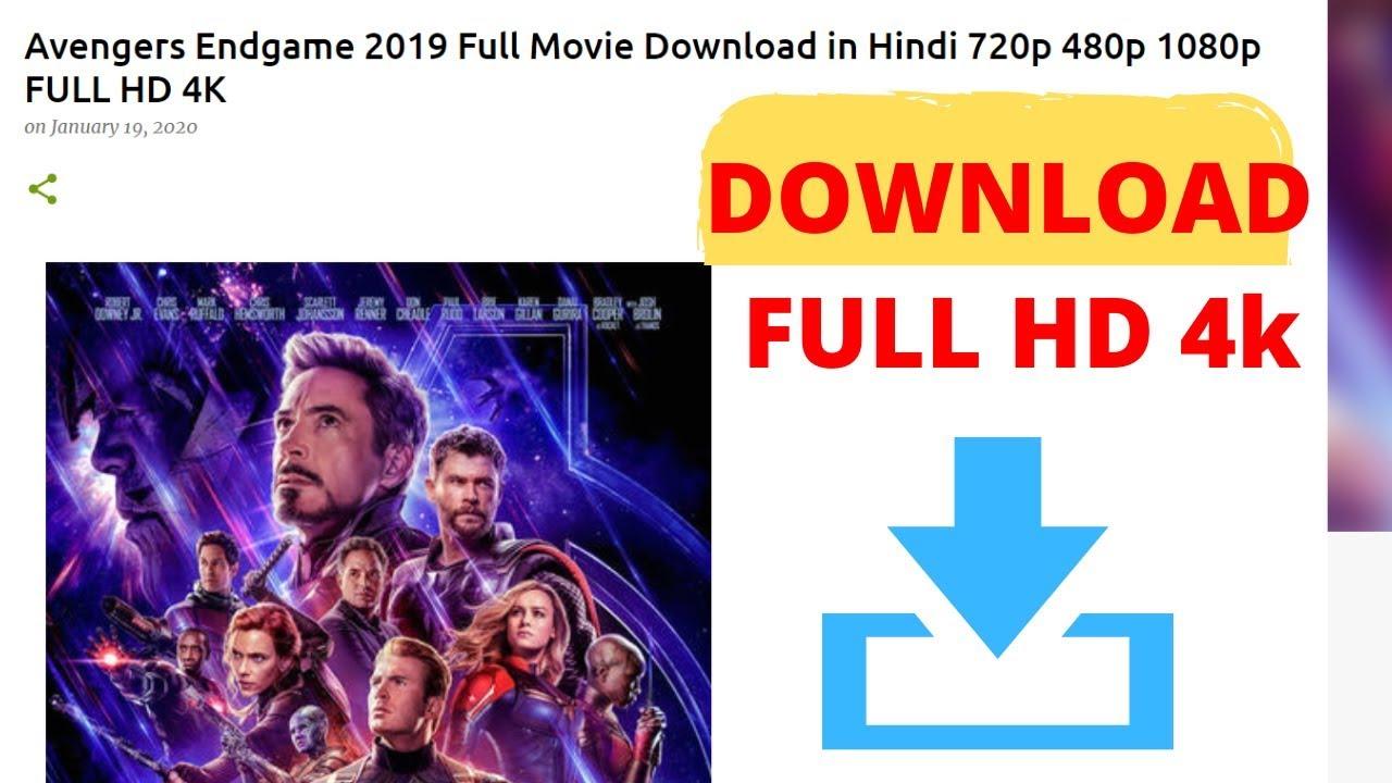 Download download avengers endgame hindi dubbed FULL HD 4K FREE