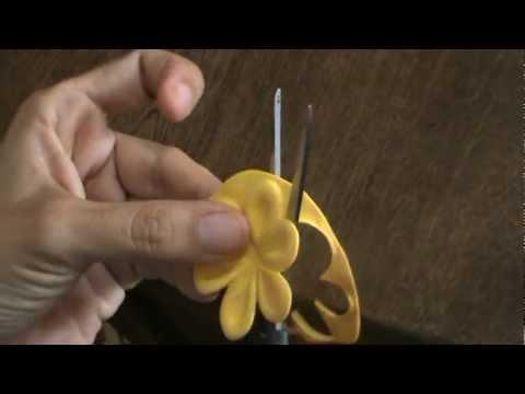 C mo hacer flores de foami con troqueles de aluminio youtube - Como hacer flores ...