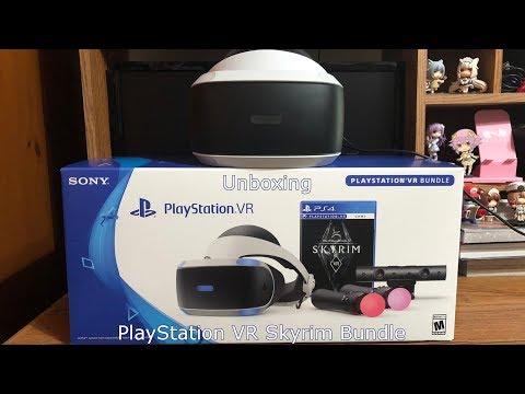 Unboxing: PlayStation VR Skyrim Bundle
