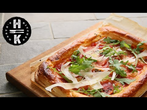 Puff Pizza - The quickest pizza