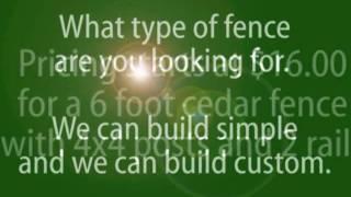 Custom Cedar Fence Wood Privacy Installation Austin Texas 512-627-0778