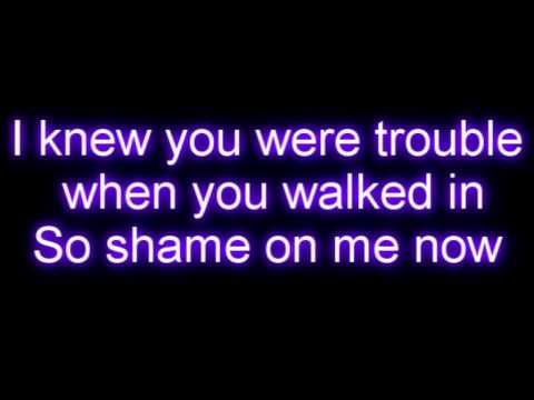 Taylor Swift - I Knew You Were Trouble LYRICS [HQ]