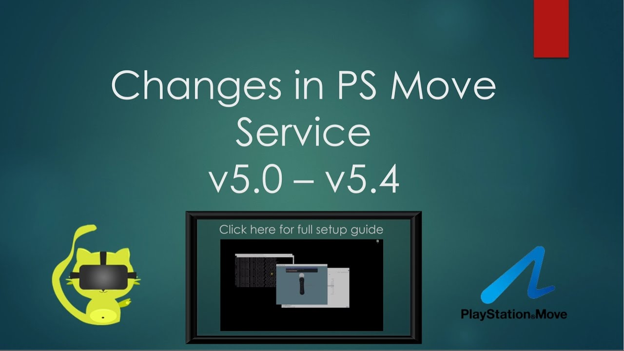 ps move service v5 4 update and feature walkthrough diy vive youtube rh youtube com Xbox Gaming Setup Xbox Gaming Setup