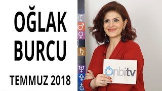 Oğlak Burcu - Temmuz 2018 - Astroloji