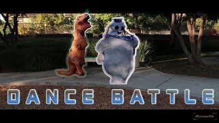 T-REX vs MARSHMELLOW !! (DANCE BATTLE)