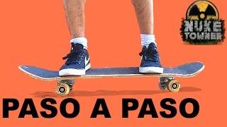 Cómo montar en SKATE | Aprender PASO A PASO | Tutorial