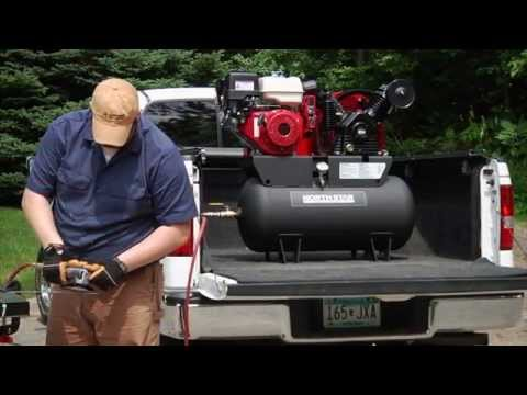 northstar-portable-gas-powered-air-compressor---honda-gx390-ohv-engine,-30-gallon-horizontal-tank,-2