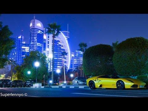 Cars in Qatar! Ferrari's, Lamborghini's, Maserati's, AMG's and Much More!
