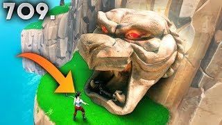 *SECRET* MAP HIDING SPOT..!! Fortnite Daily Moments Ep.709
