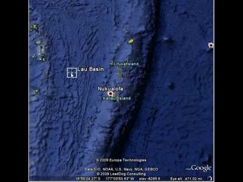 Tonga trench
