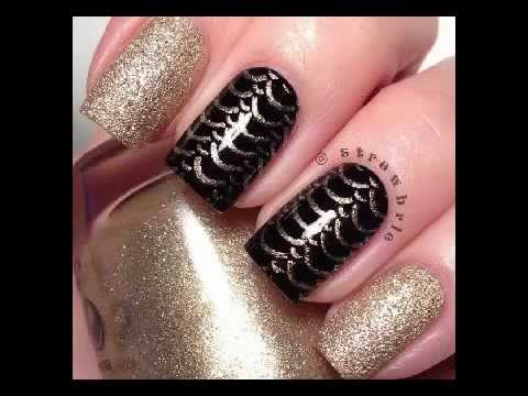 U as postizas decoradas con esmalte youtube - Unas decoradas con esmalte ...