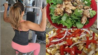 Jarmaine's FOOD DIARY! (What I eat to STAY FIT)