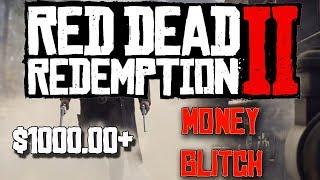 *WORKING* RED DEAD ONLINE MONEY GLITCH AFTER 1.04