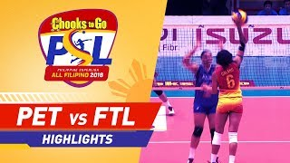 Highlights: Petron vs. F2 Logistics | PSL All-Filipino Conference 2018