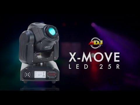 American DJ - X Move LED 25R